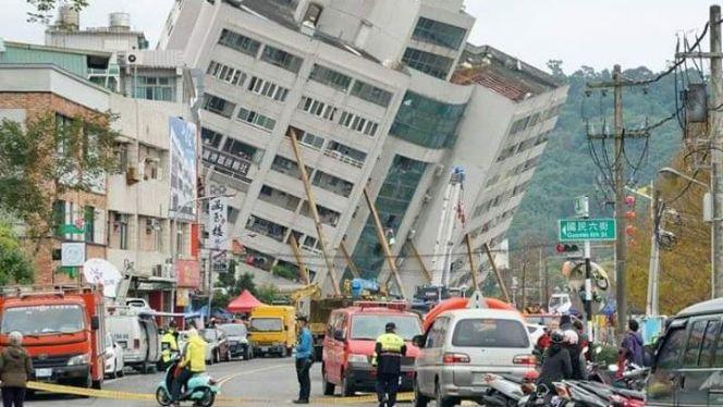 زلزال تايوان 1