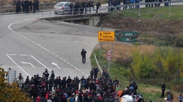 Tučnjava migranata na ulicama Velike Kladuše