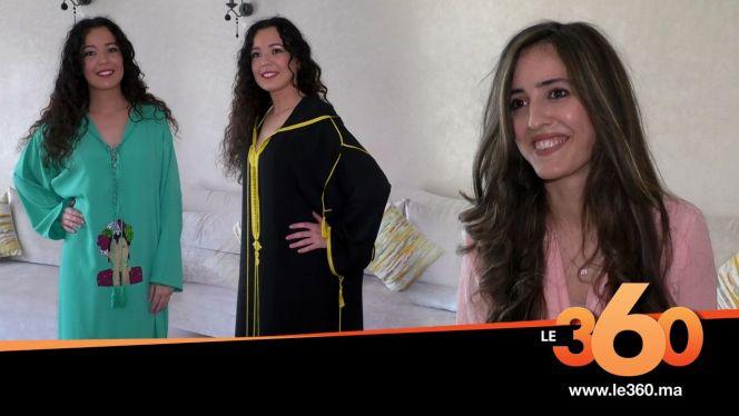 Cover_Vidéo: Le360.ma • أناقتك: الحلقة 14: جلابيات مبتكرة ومميزة من تصميم أزهار خالدي