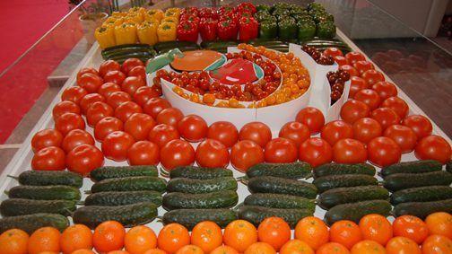 فواكه وخضروات مغربية