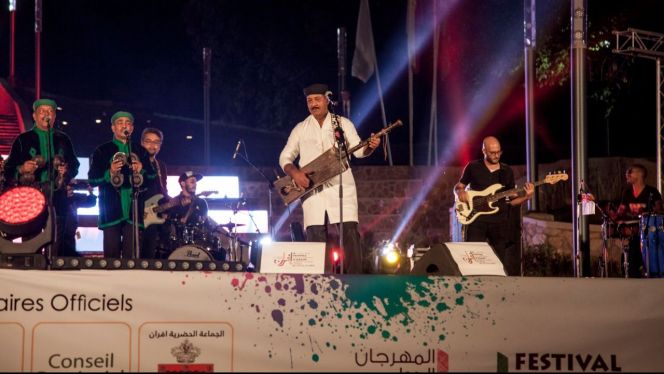 حميد القصري في مهرجان إفران 1