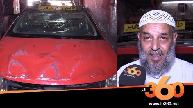 Cover_Vidéo: Le360.ma • سائق طاكسي بفاس يروي تفاصيل محاولة الاعتداء عليه وسرقة سيارته بالعنف