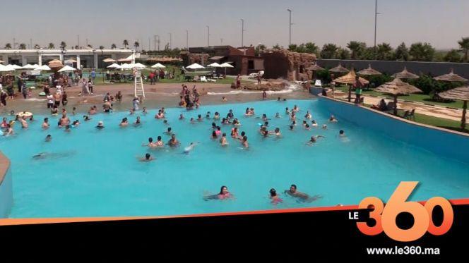 غلاف فيديو - البحر الاصطناعي بفاس.. متنفس الفاسيين من قيظ فصل الصيف