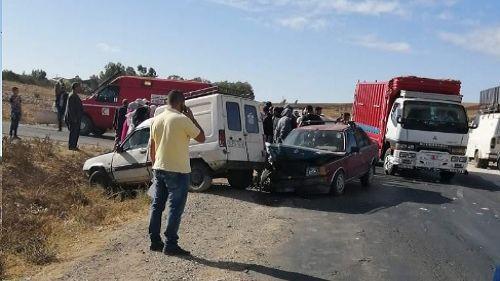 حادث سير بإقليم سطات