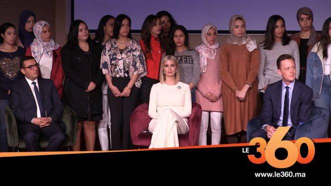 Cover_Vidéo: Le360.ma •هكذا دافعت إيفانكا ترامب عن حقوق المرأة في الرباط