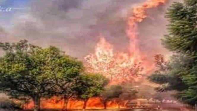 حرائق في لبنان