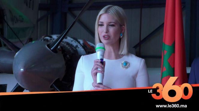 Cover Vidéo - Ivanka Trump: Visite l'Institut Spécialisé des Métiers de l'Aéronautique et de la Logistique Aéroportuaire (ISMALA)