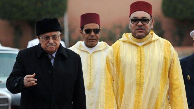 محمد السادس محمود عباس