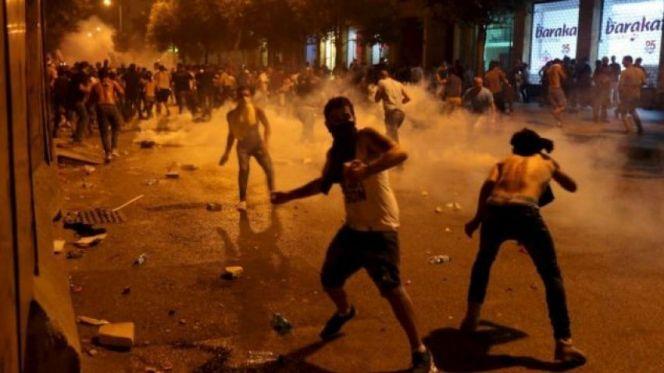 أعمال شغب في لبنان