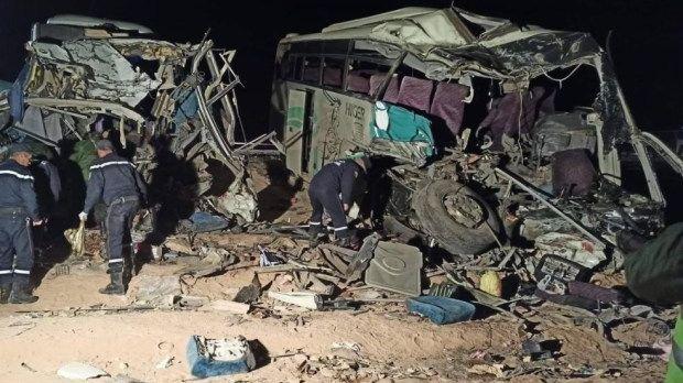 حادث سير بالجزائر