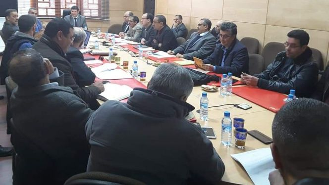 اجتماع بعمالة إقليم جرادة