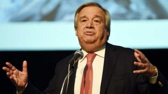 أنطونيو غوتيريس، الأمين العام للأمم المتحدة