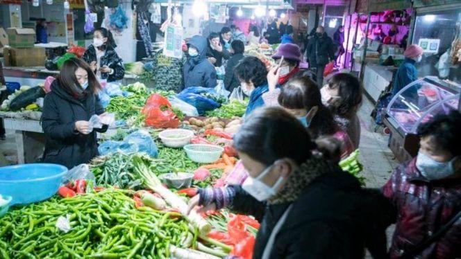 سوق ووهان