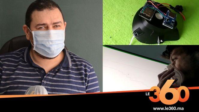 cover vidéo :Le360.ma •فريق مغربي يخترع كمامة الكترونية تسمح برصد وتتبع حالات كورونا