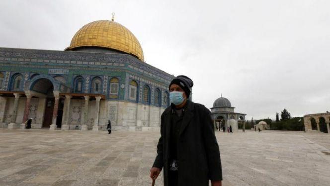 القدس كورونا / فلسطين كورونا
