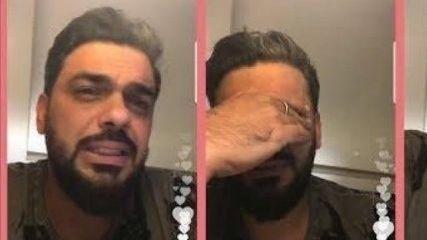محمد الترك يبكي