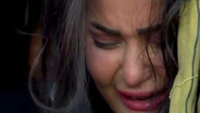 سما المصري تبكي
