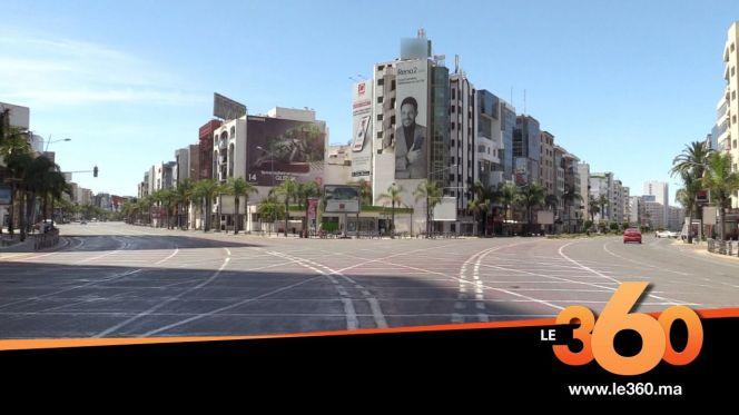 شوارع الدار البيضاء ثاني أيام عيد الفطر