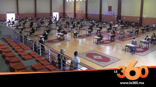 Cover_Vidéo: هكذا اجتاز مترشحو الباك الامتحان بأكادير في عز كورونا