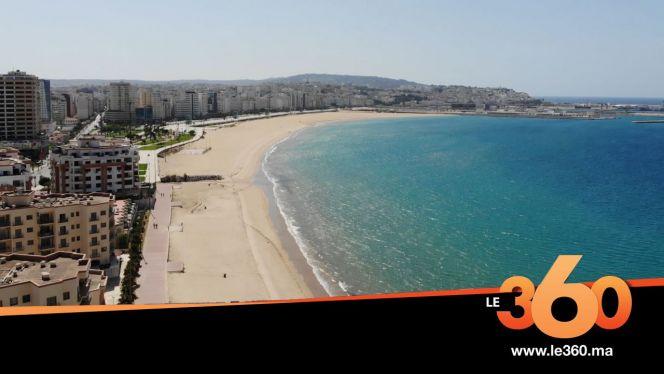 cover vidéo :Le360.ma • الشرطة بطنجة تحاصر شواطئ المدينة وقاية من كورونا