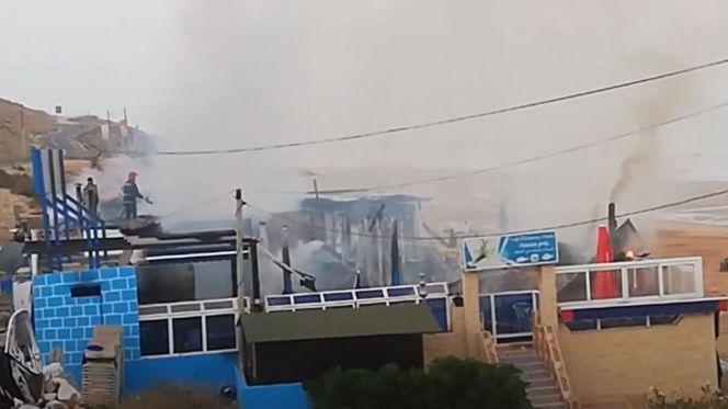 حريق بمطعم بأكادير