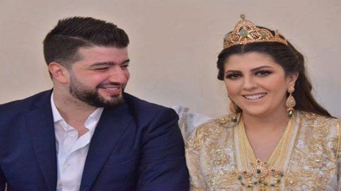 حمزة الفيلا وزوجته