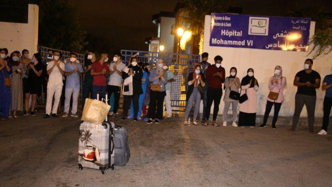 احتجاج أطباء طنجة 5