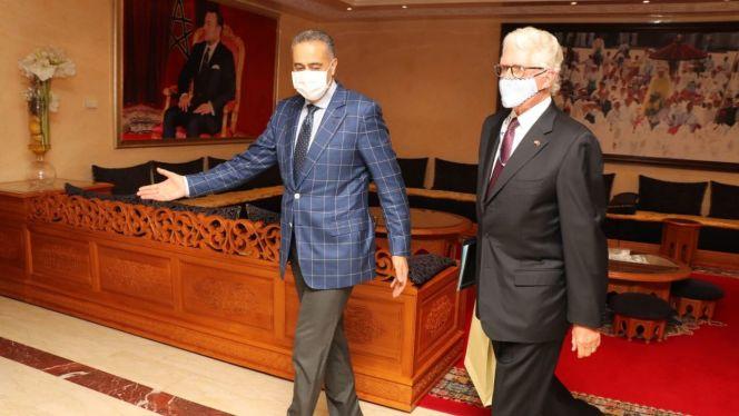 حموشي والسفير الأمريكي بالمغرب