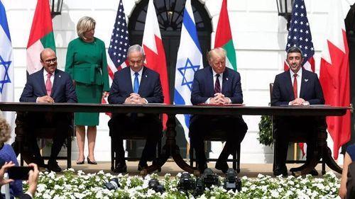 اتفاقية تطبيع بين إسرائيل والبحرين والإمارات
