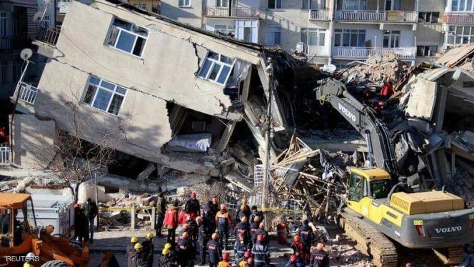 زلزال بتركيا