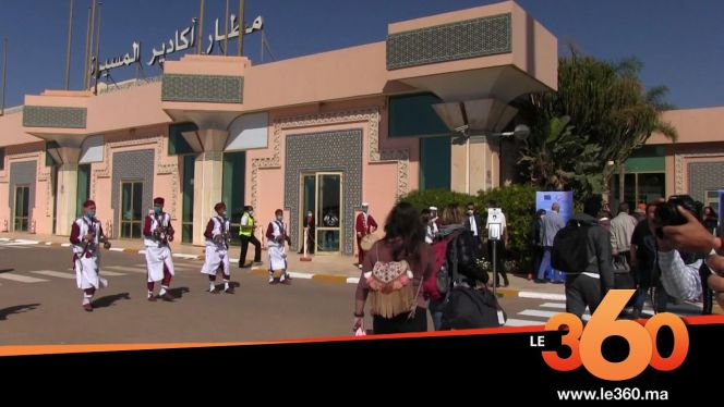 Cover Vidéo - مطار أكادير يستقبل أول طائرة سياحية بعد توقف لـ8 أشهر بسبب كورونا