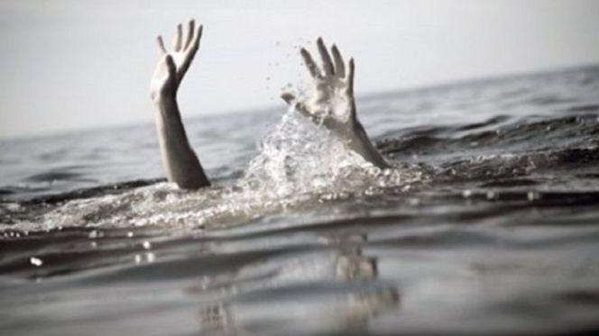غرق بالشاطئ