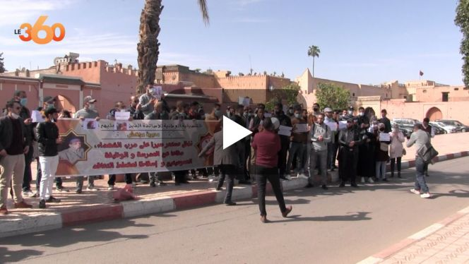 cover vidéo:مراكش: الأساتذة المتعاقدون يستقبلون الوزير سعيد أمزازي بالإحتجاج
