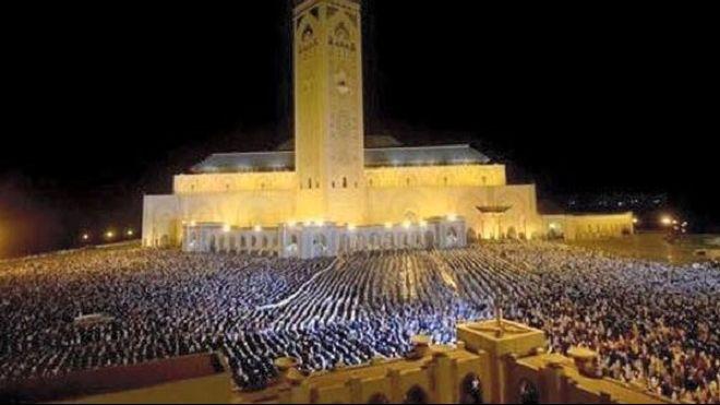 تراويح مسجد الحسن الثاني