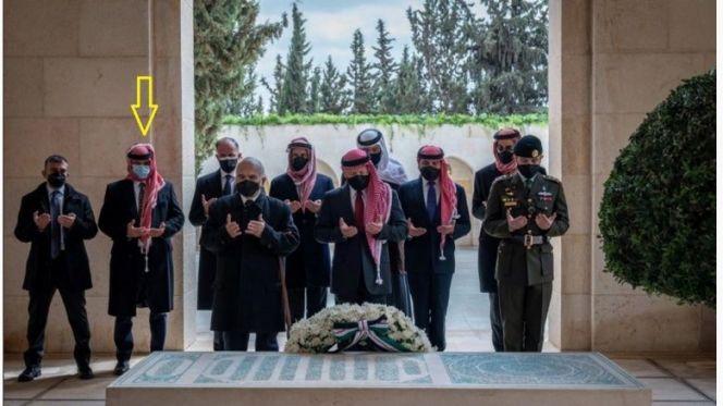 ملك عبد الله وأشقاءه