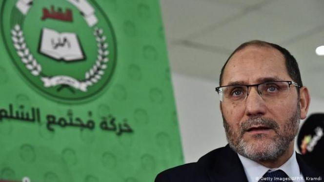 """رئيس حركة """"حمس"""" عبد الرزاق مقري"""