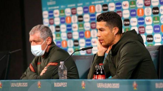 كريستيانو رونالدو ومدرب المنتخب البرتغالي