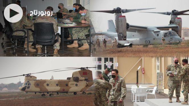 """COVER شاهد """"العقل المسيِّر"""" للعمليات العسكرية للأسد الإفريقي بالمنطقة الجنوبية"""