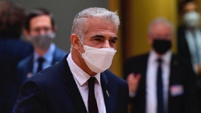 يائير لبيد، وزير الشؤون الخارجية الإسرائيلي.