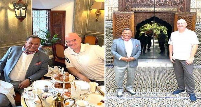 إنفانتينو يختار مراكش لقضاء عطلته الصيفية