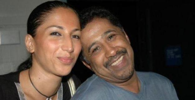 الشاب خالد وزوجته