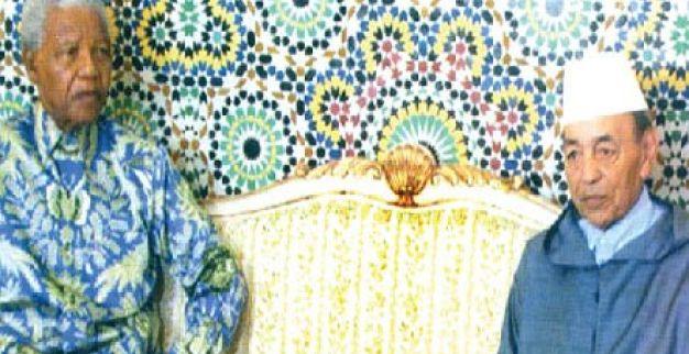 مانديلا في المغرب