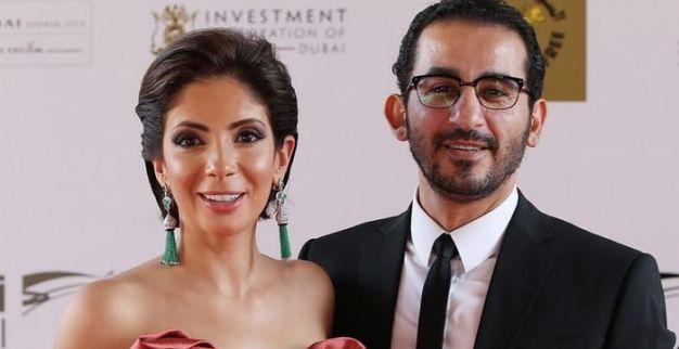 أحمد حلمي وزوجته