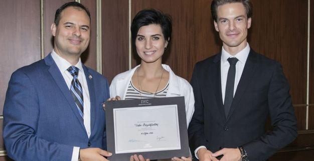 لميس سفيرة ساعات سويسرية 1
