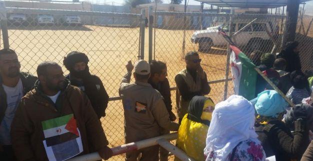 احتجاج في تندوف 2