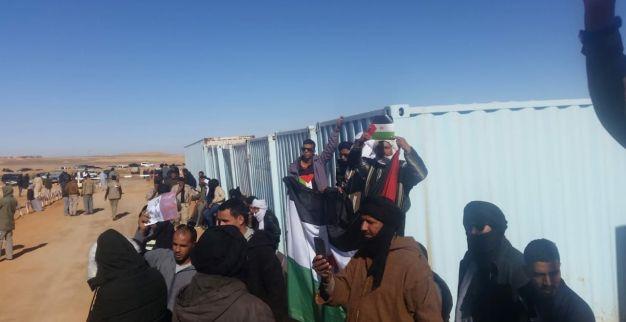 احتجاج في تندوف 4