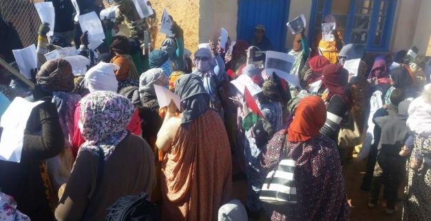 احتجاج في تندوف 5