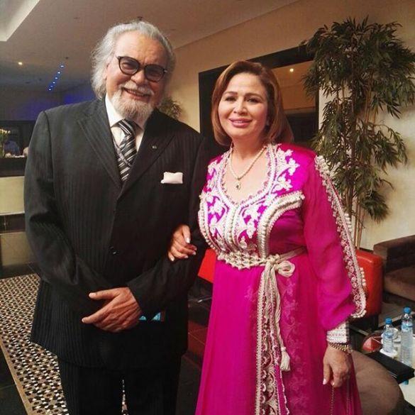 إلهام شاهين ومحمد مفتاح