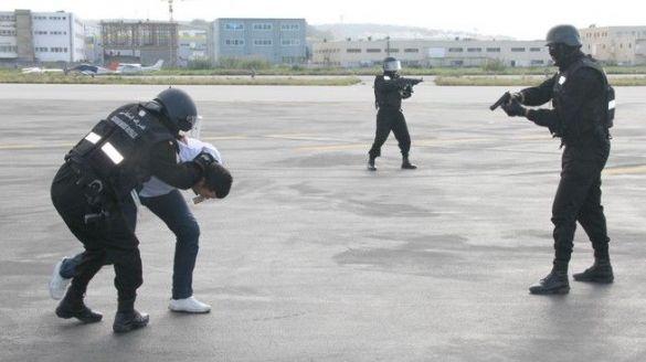تدريب على صد هجوم إرهابي بطنجة 2