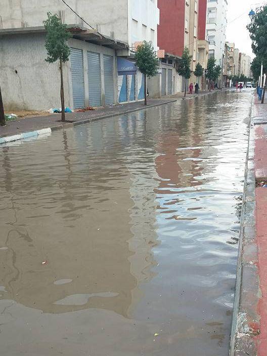 أمطار طنجة 3